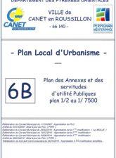 Plan des annexes et servitudes 1