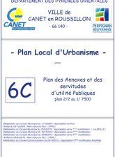 Plan des annexes et servitudes 2