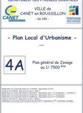 Plan général de Zonage