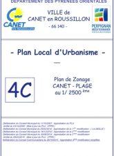 Plan de Zonage Canet-Plage
