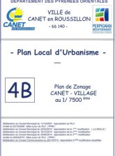 Plan de Zonage Canet-Village