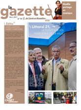 Couverture la gazette mars 2017