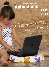 Animations Septembre 2017