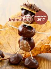 Programme d'animations novembre 2017
