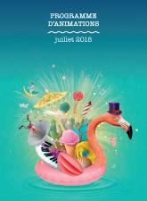 Programme animation juillet 2018
