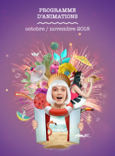 Programme d'animations octobre novembre 2018