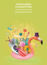 Programme animation septembre