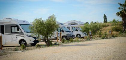 Aire de camping-car