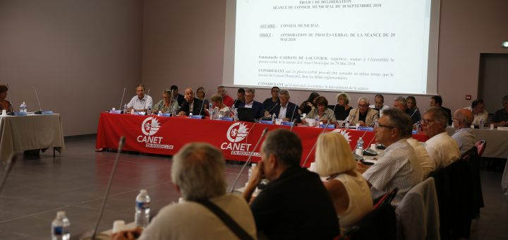 Le Conseil Municipal du 18 septembre