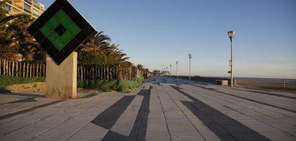 L'esplanade de Victor Vasarely