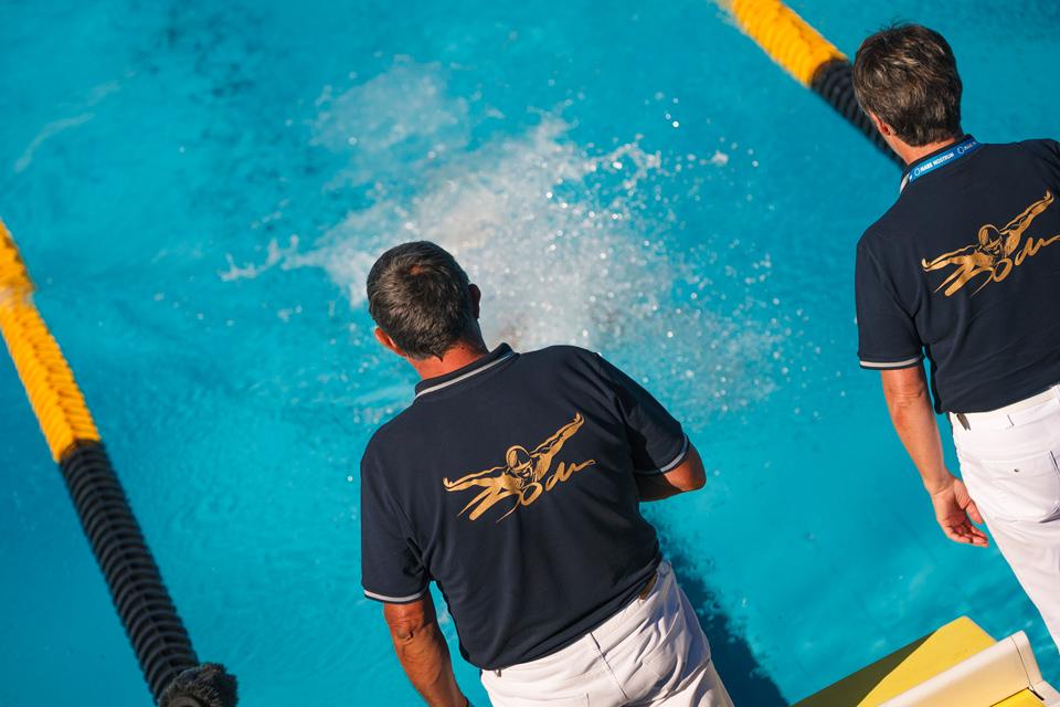 Arbitres de natation