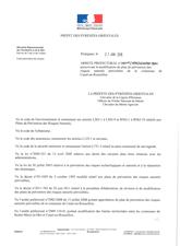 Arrêté Prescrivant Modification PPR