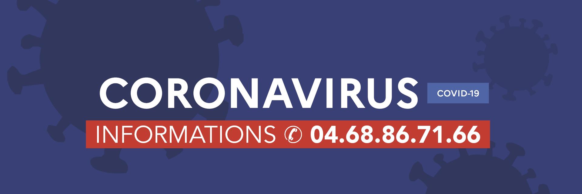 Bandeau Coronavirus