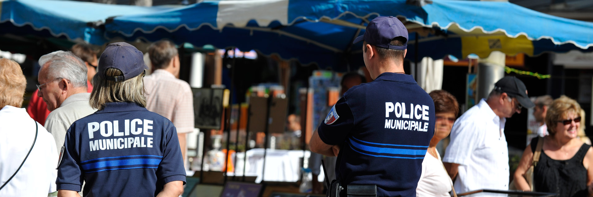Police Municipale au Marché