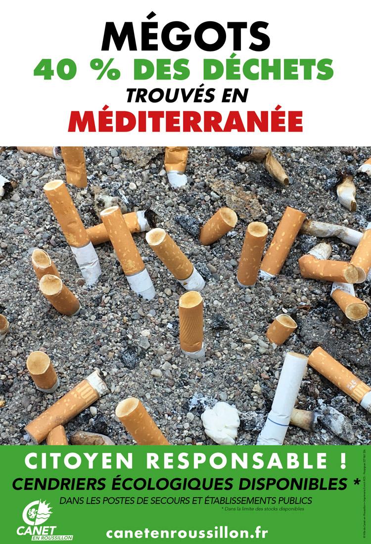Campagne Mégots