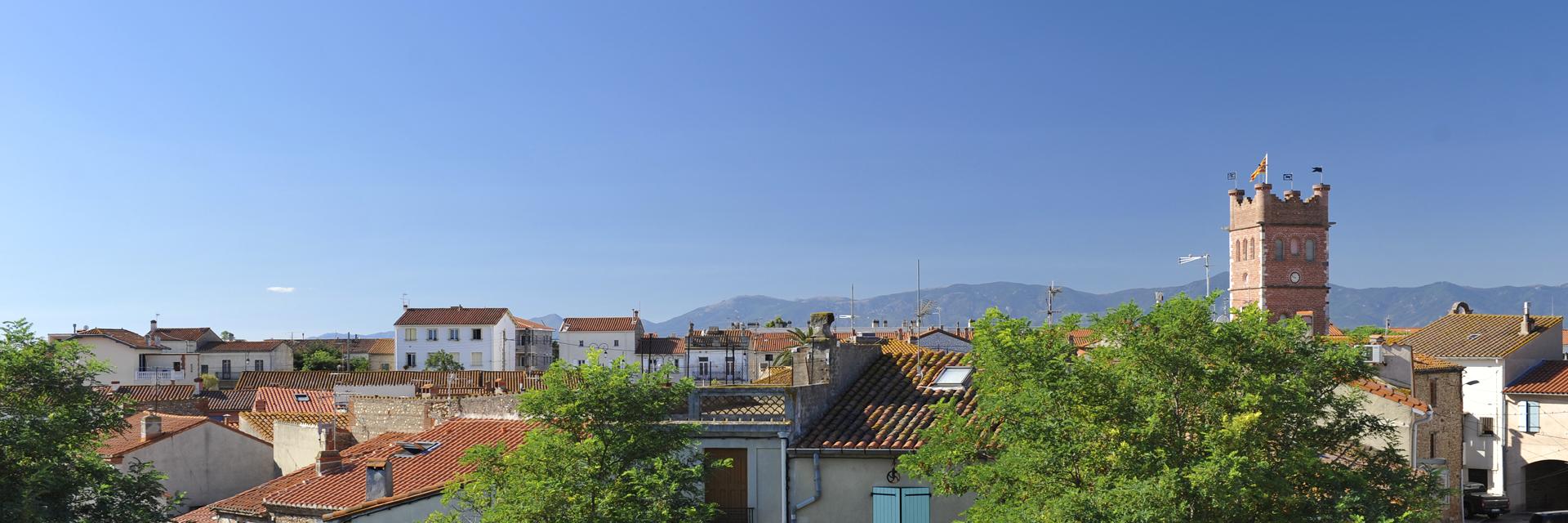 Les toits de Canet Village