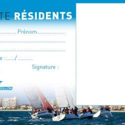 Carte résident