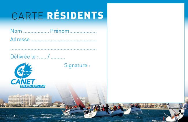 Carte résidents