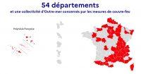 Carte département Covid-19