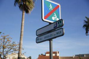 Nouveau panneau de signalisation pour les vélos