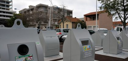 Conteneurs Parking Foment de la Sardane