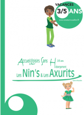 Couverture Nin's et Axurits