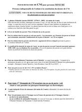 Documents Mineur