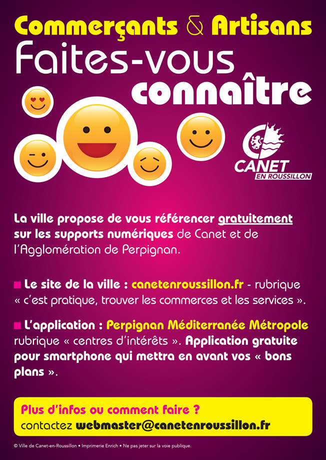 Flyer commerçants
