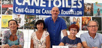 Les bénévoles de Canétoiles au forum des associations