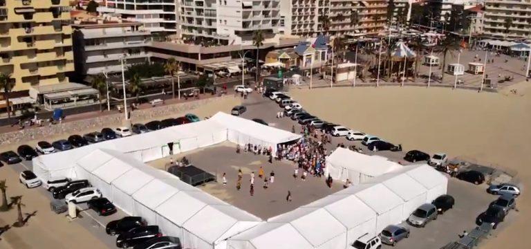 Forum des associations 2019 vue drone