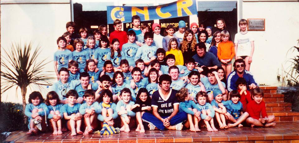 Le groupe de Natation Canet Roussillon saison 1977 – 1978