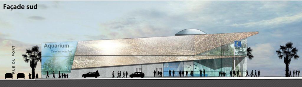 Nouvel Aquarium Façade Sud