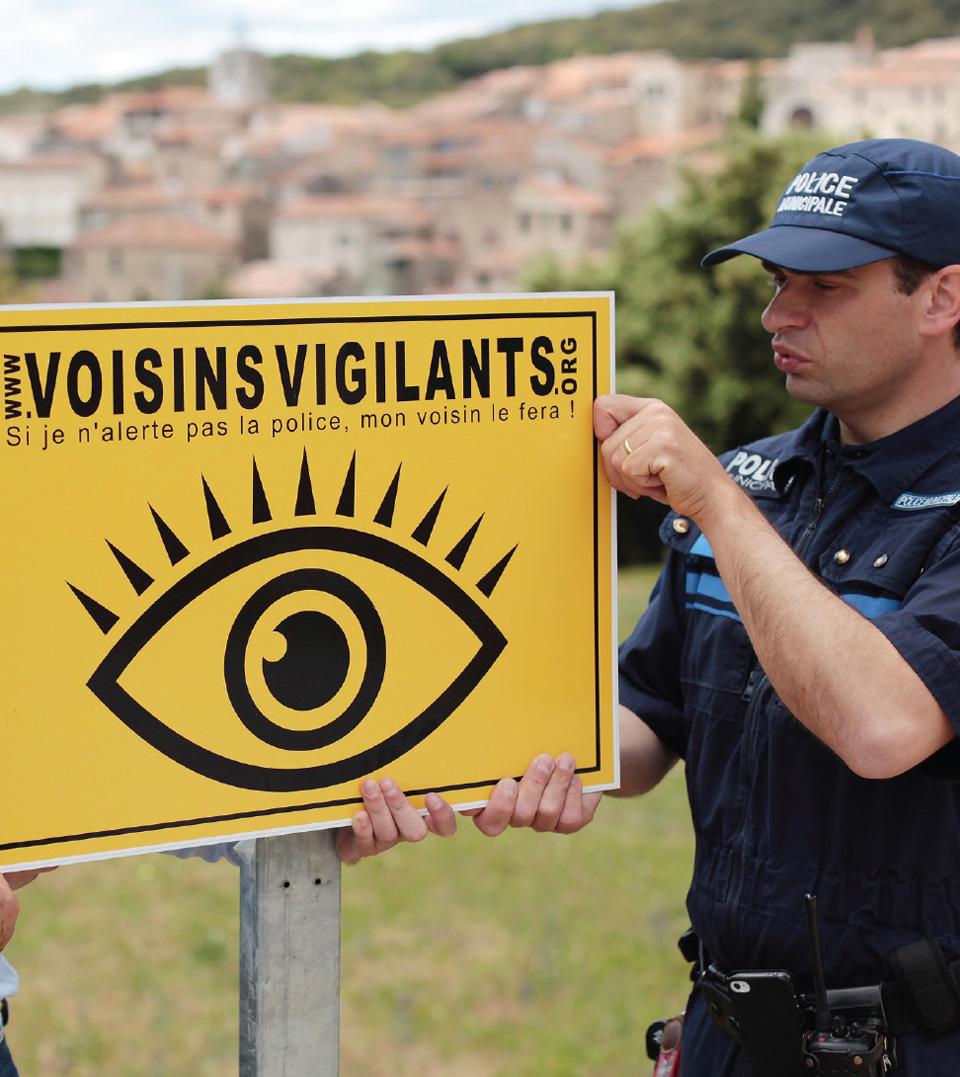 Panneau signalisation voisins vigilants