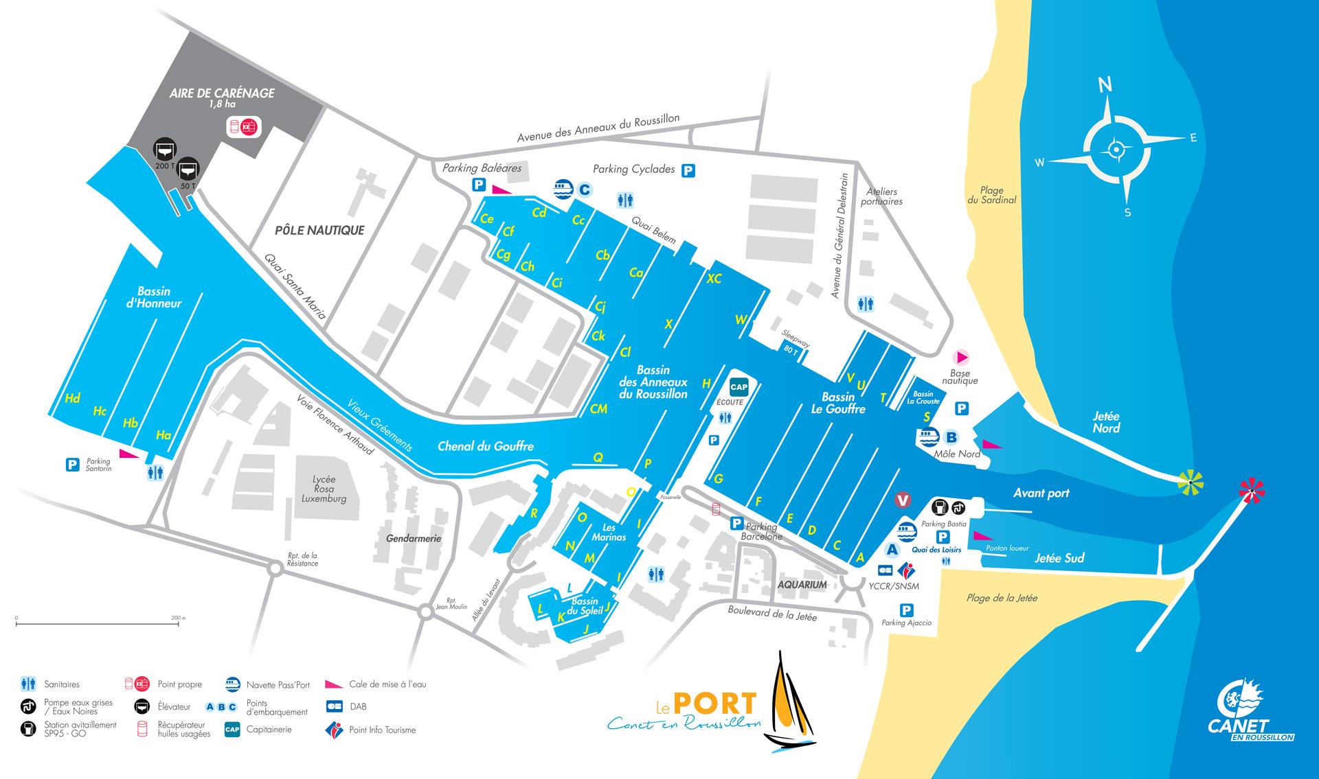 Plan du Port