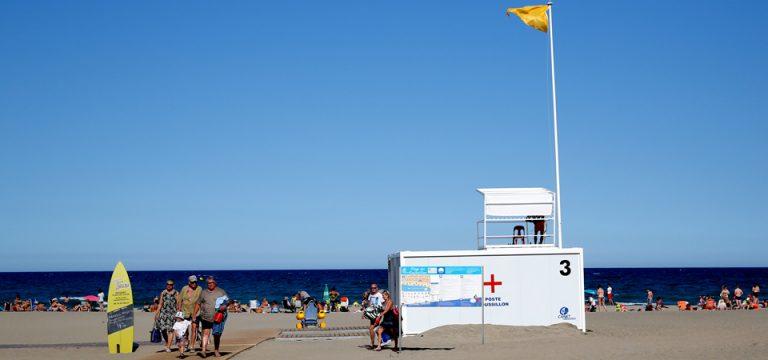 Poste de secours Roussillon