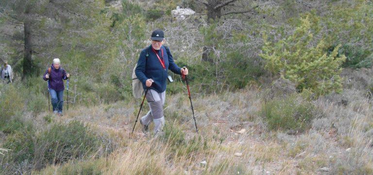 M. Vergnes en randonnée