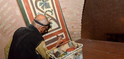 Restauration frises murales église Saint-Jacques