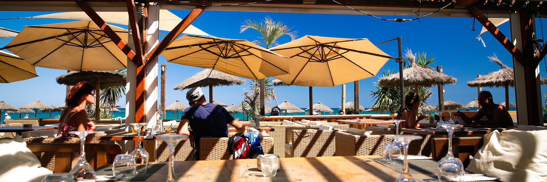 Restaurant club de plage