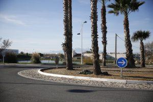 Rond-point de l'avenue des Alizés