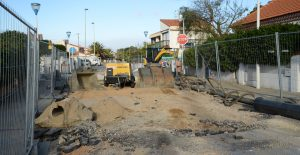 Travaux rue Coquillage et Aigues Marines