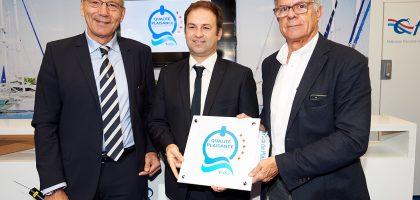 Le trophée a été reçu lors du salon Nautic à Paris