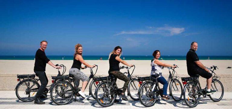 les vélos électriques des aides à domicile