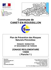 Zonage Réglementaire Planche 1